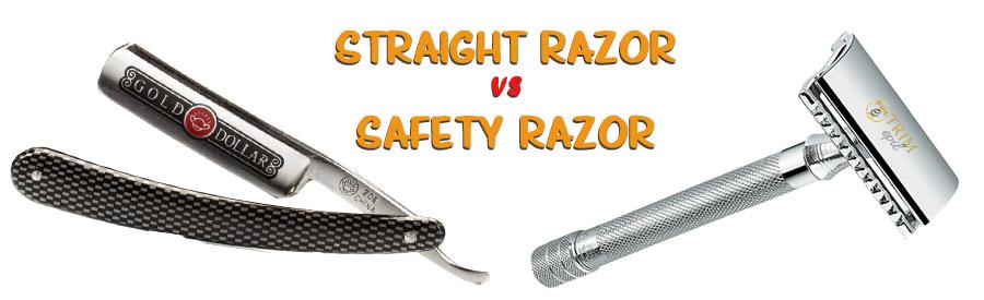 straight razor vs safety razor